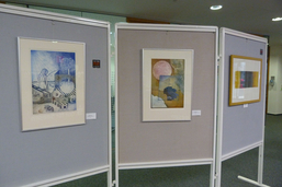 Ausstellung in der Braunschweigischen Landessparkasse, Reinhard Koschubs