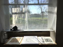Tag der Druckkunst in Atelier & Galerie Ivenack, Foto: Anne-Katrin Altwein