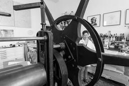 Linda Schwarz Atelier – Krause Tiefdruckpresse
