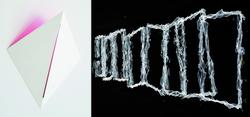 """Einladungskarte """"Alles Schein"""", Kiki Gebauer und Rainer W. Gottemeier, 2018"""