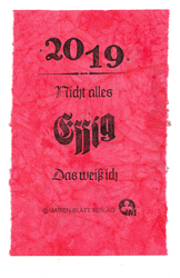 Probe 2019, © Regine Mönkemeier, © Marien-Blatt Verlag