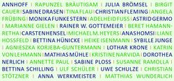 Einladungskarte Tag der offenen Ateliers 2019, BVBK