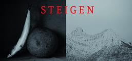 Einladungskarte Steigen, Ingar Krauss und Marion Angulanza, 2017/2018