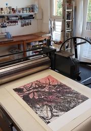 Atelier, Mokulito, 60 x 80 cm