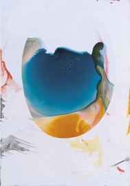 Spiegel 10, Jenny Forster, 2016, gemischte Technik auf Papier