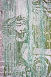 Klio Muse der Geschichtsschreibung 110 x 80cm