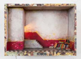 Pino Polimeno, i libri posati, 2017, Objekt, Foto: Pino Polimeno