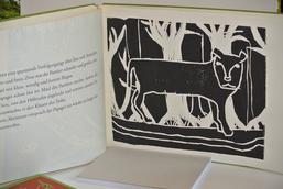 """originalgrafisches Buch """"Papagei und Panther"""" von Theo Recknagel, 10 Jahre"""