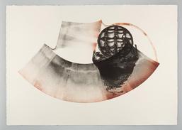 Barke, Lithografie und Walzdruck / Foto: Heinrich Herbrügger