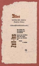 Einblattdruck, 2011