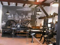 Abteilung Druckgeschichte im Stadtmuseum Mosbach
