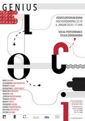 Sabina Twardowska, Genius Loci - Plakat, 2017, Grafik, A1, Foto: ST