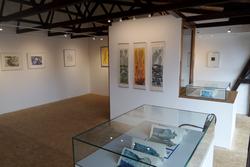 """Ausstellung """"Drucksachen"""" in der Galerie @hierundjetzt, Foto: B. Kykebusch"""