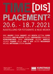 Time[DIS]placement2 / Plakat / Gestaltung: Frank Baquet